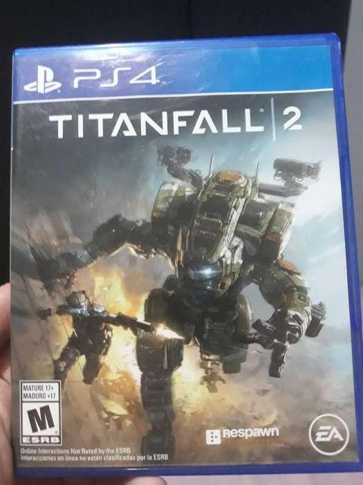 Ps4 Titan Fall 2 Como Nuevo