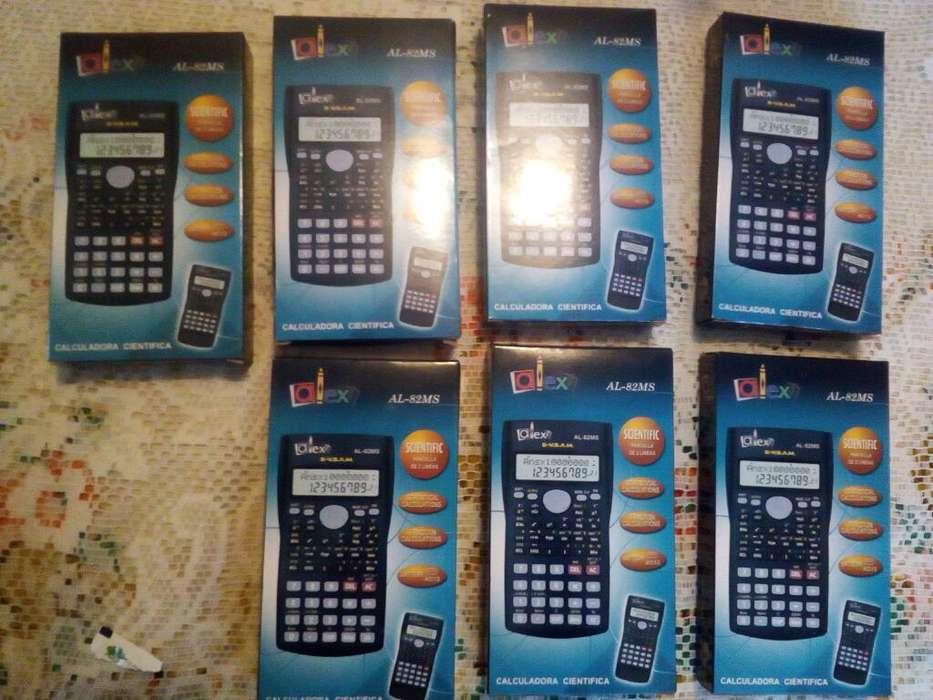 Lote de 7<strong>calculadora</strong>s Científicas Nuevas