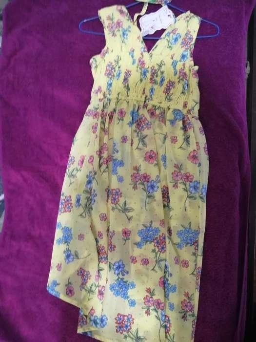 Hermoso Vestido Short para Nia Talla 10