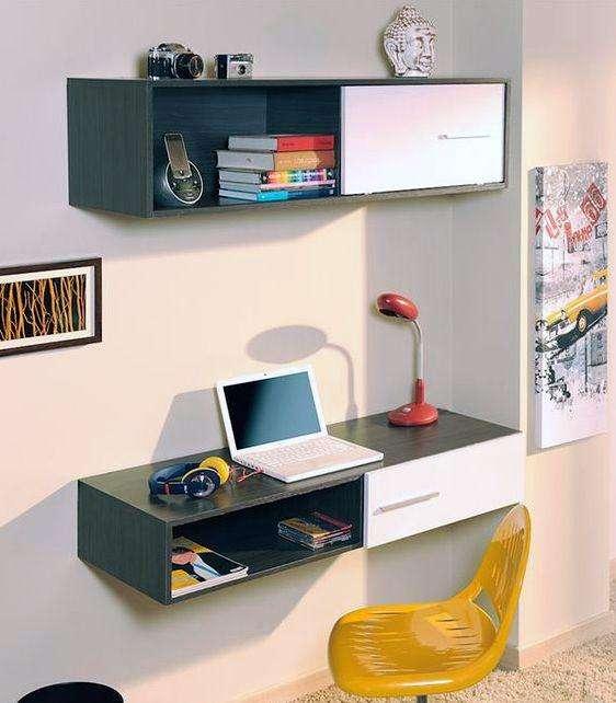 kit escritorio mas gabinete o repisas