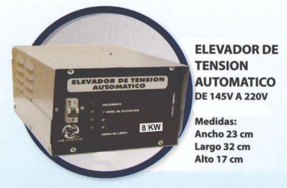 Elevador Automatico de 145v a 220v de 10