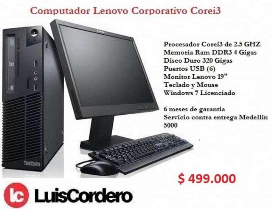 Computador Core I3 Lenovo