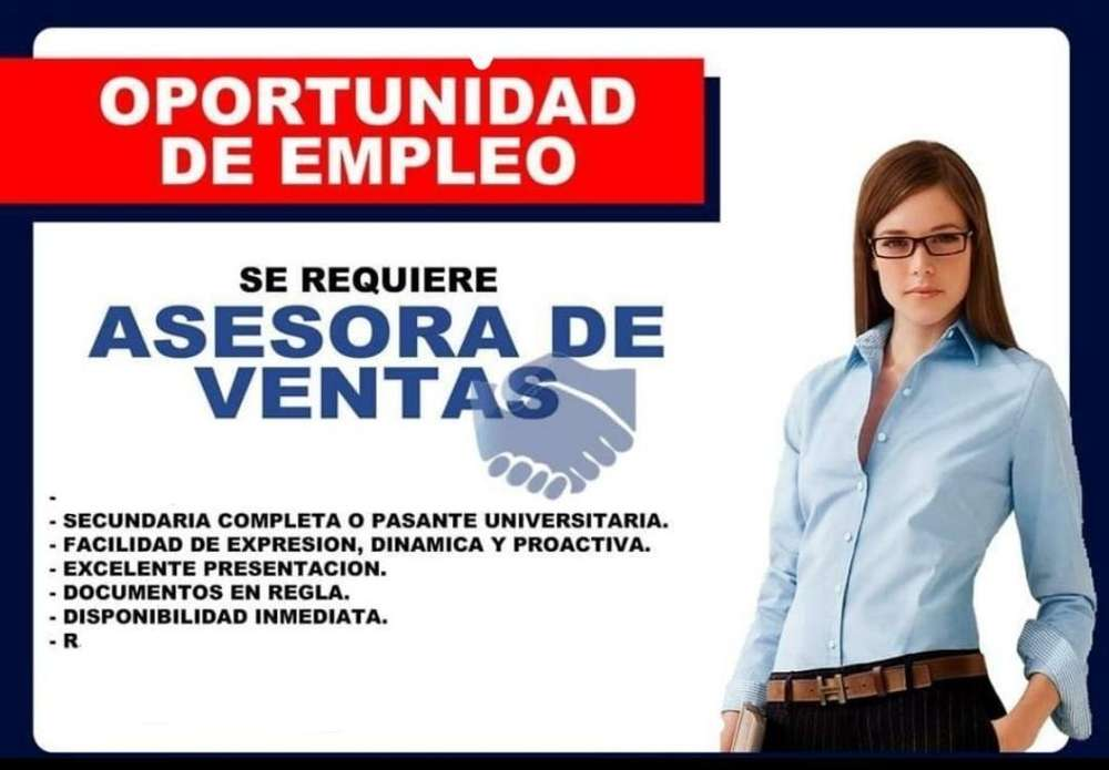 <strong>auxiliar</strong> de Ventas