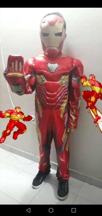 Disfraz Iron Man Completo