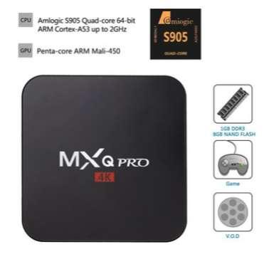 Tv Box Mxq Pro Smar Tv Inteligente