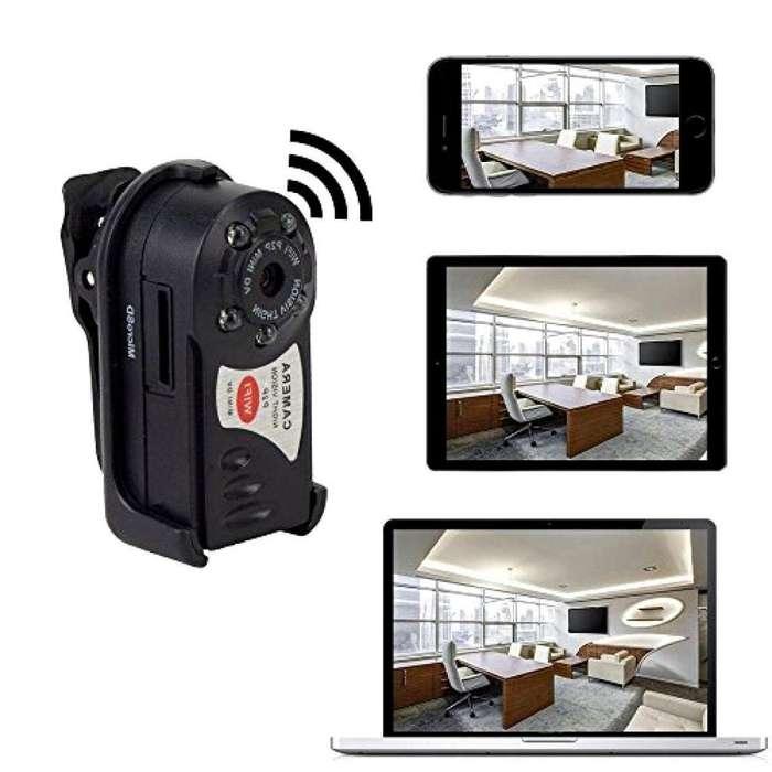 Q7 Mini Camara Espia Wifi Sport Oculta V.Nocturna S.Movimiento 1080p FullHD