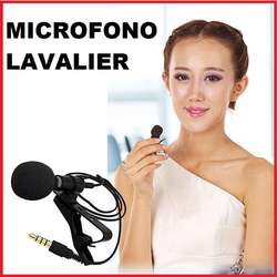 KIT MICROFONO TRRS LAVALIER PARA CELULAR Y EXTENSION TRRS 02 MTS