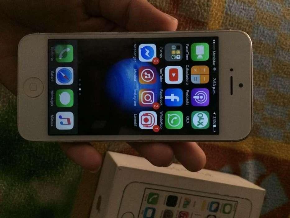 iPhone 5s de 16 Gb Estado Fisico 9/10