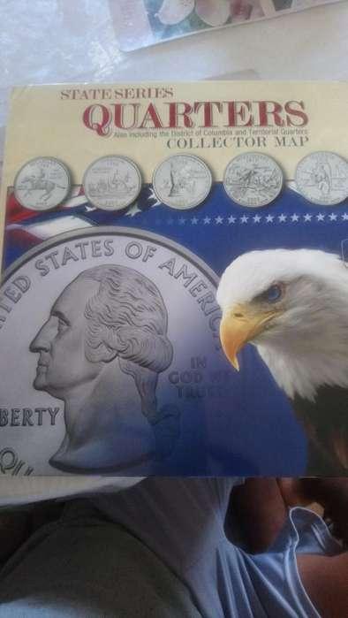 Coleccion de Monedas de 25ctvs Americana