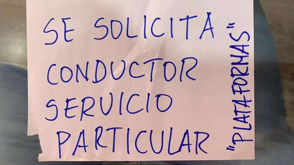 Conductor Servicio Particular