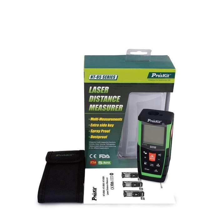 Distanciómetro láser portátil Pro'sKit NT858