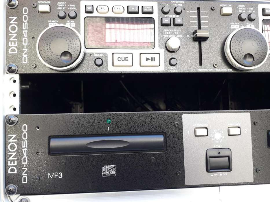 GSG - VENDO CD PLayer doble DENON DN-D4500. Lee <strong>mp3</strong>