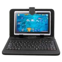 TABLET CON FUNDA TECLADO TIPO NETBOOK ANDROID DOBLE CAMARA FLASH REDES JUEGOS RAM 1 GB ROM 8 GB NUEVAS GARANTIA