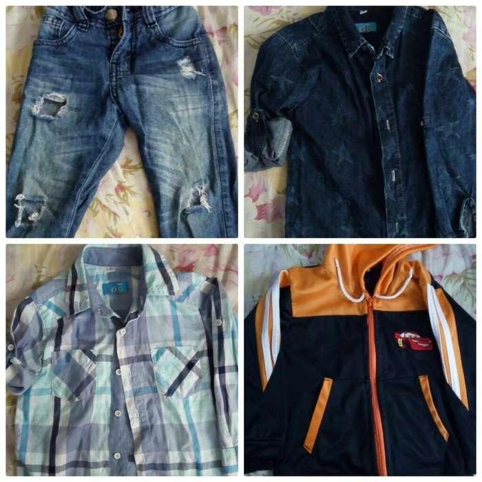 Lotecito de <strong>ropa</strong> de Niño Talla 2 _ 3