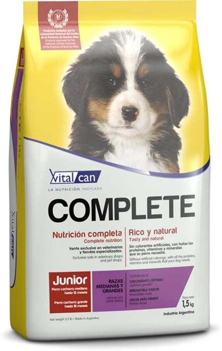 Alimento VITALCAN Complete Cachorro x 20kg