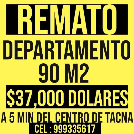 DEPARTAMENTO REMATE 90 M2