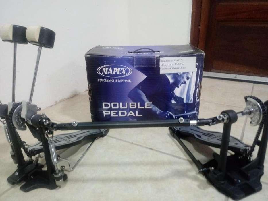 Vendo doble pedal Mapex p500 tw