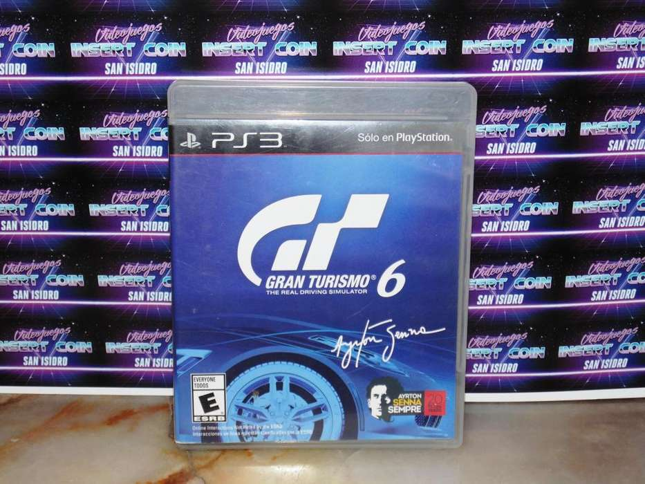 Gran Turismo 6 PS3 Juego Play Station 3