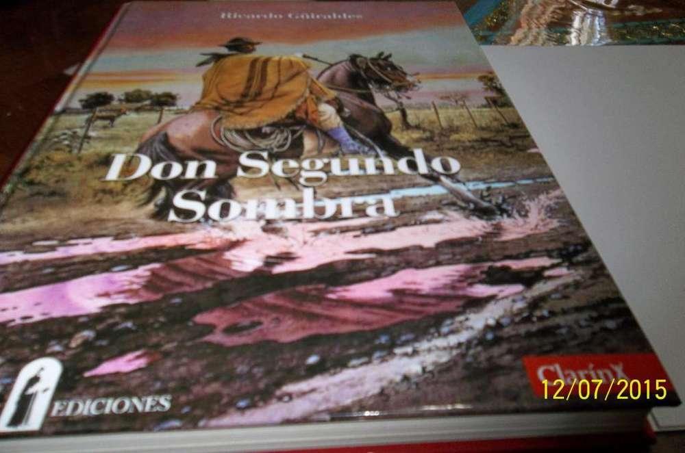 Don Segundo Sombra autor Ricardo GÜiraldes Ediciones Zurbaran Tapa dura, tamaño grande