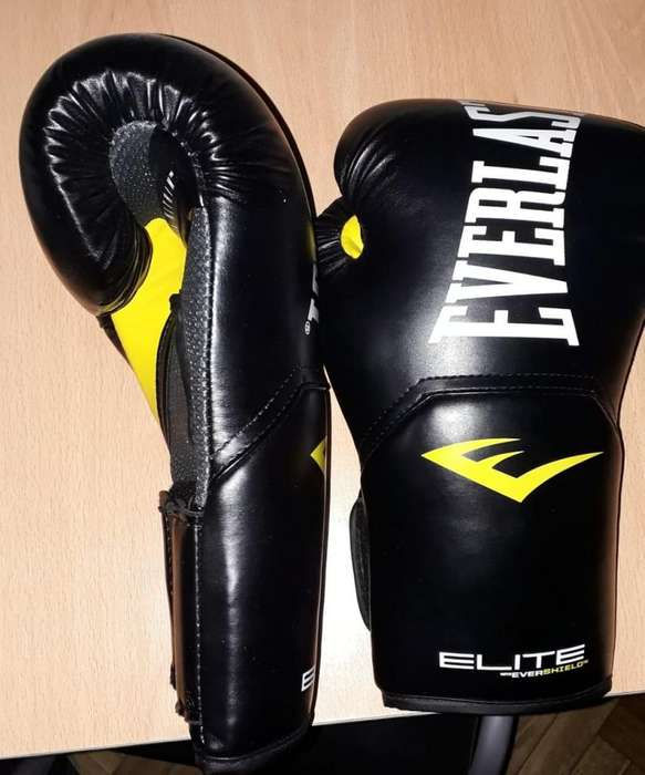 Guantes de Boxeo Elite - Everlast 12 Oz
