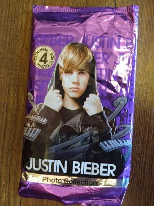 Fotocartas Coleccionables Justin Bieber