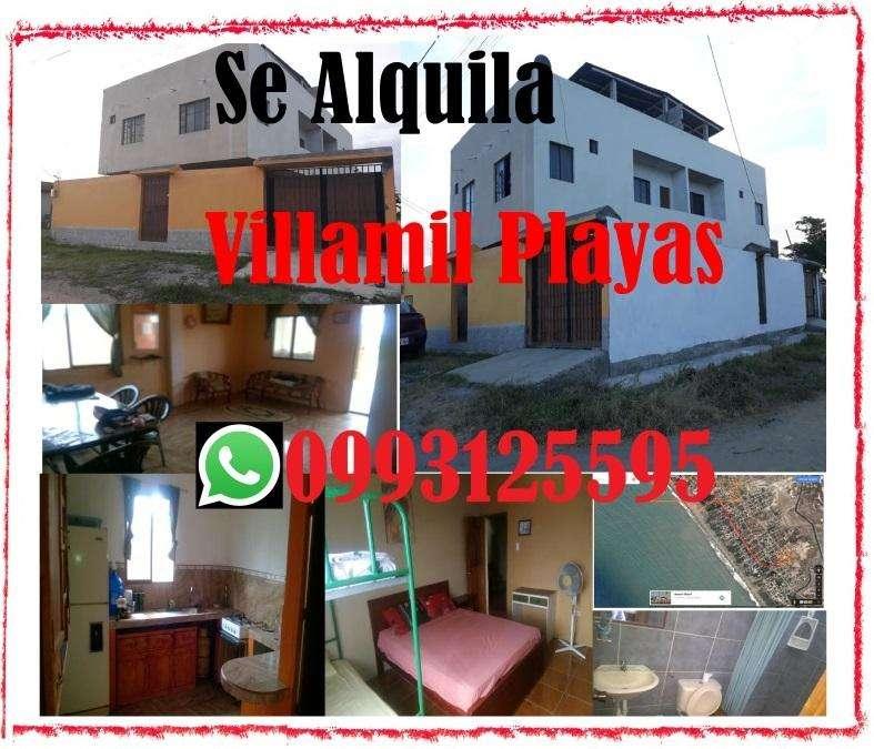 PLAYAS VILLAMIL ALQUILO <strong>casa</strong> VACACIONAL AMOBLADA 65 para 10 personas o mas