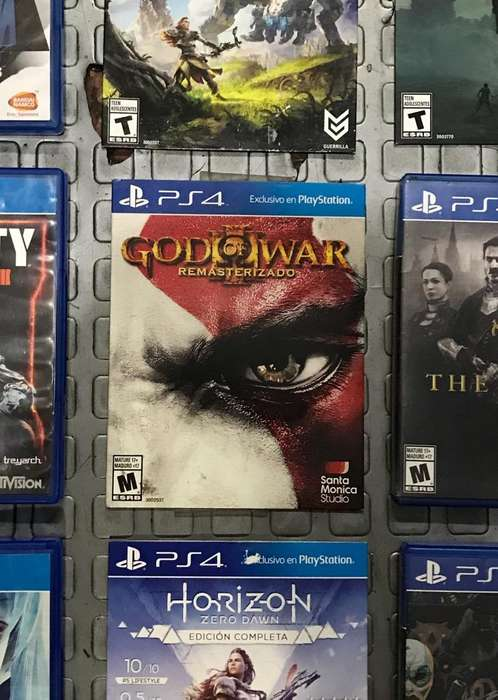 God Of War 3 Ps4 Videojuego