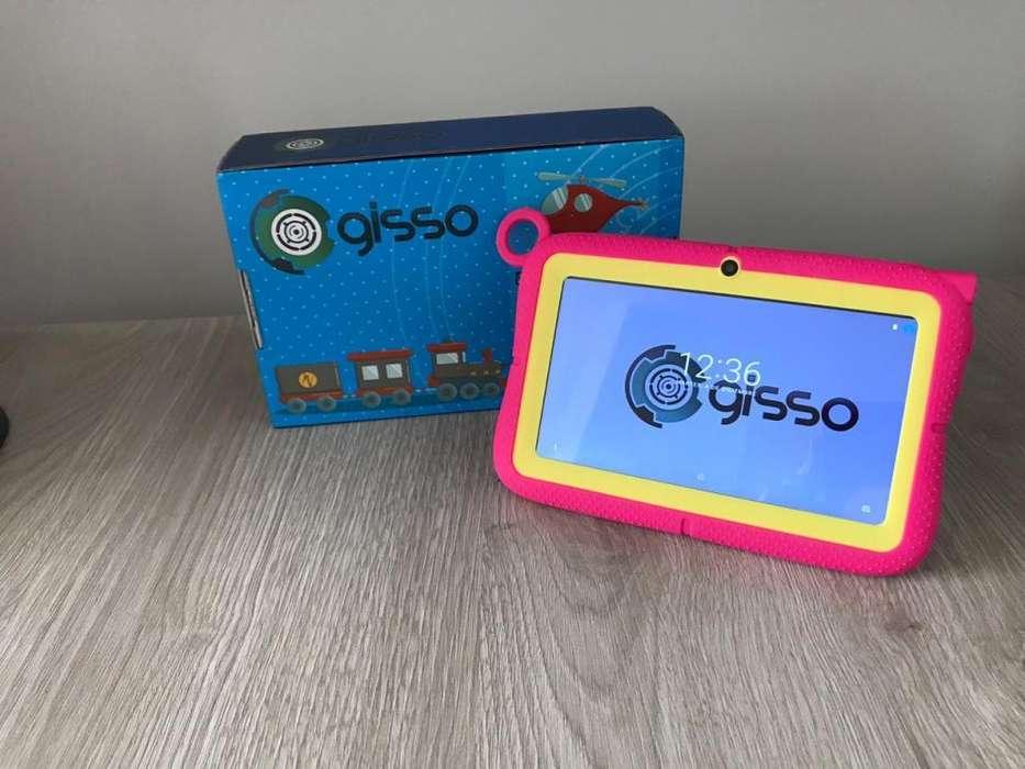 Tablet Gisso Kids Para Niños De 7 Pulgadas Con Camara 8gb CC Monterrey local sotano 5