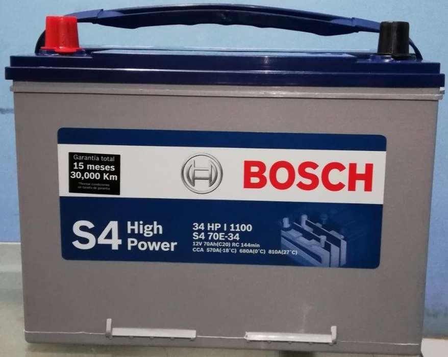 Baterías Bosch S4 34 Hp 1100 High Power