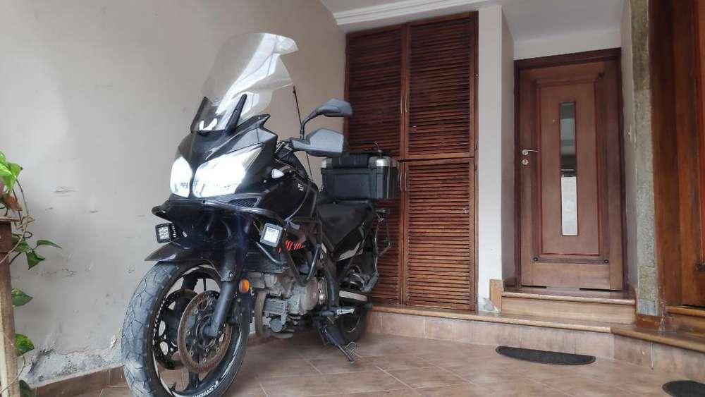 Moto Suzuki Vstrom V-strom 650cc 2011