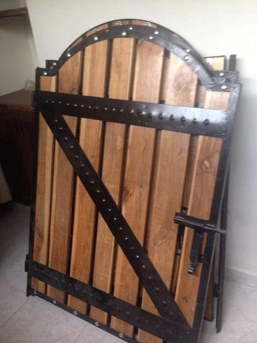 Puertas para Pesebrera