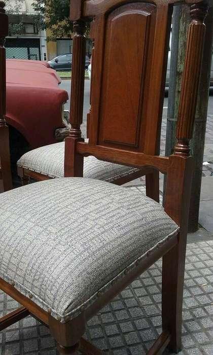 4 esplendidas <strong>silla</strong>s restauradas a nuevo 9999 PESOS