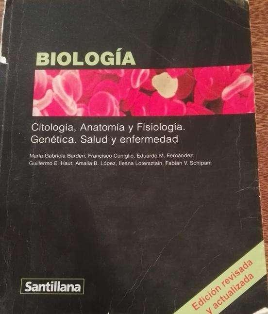 Libro Biología Santillana Ed. Revisada y Actualizada