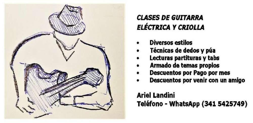 Clases de Guitarra en Rosario