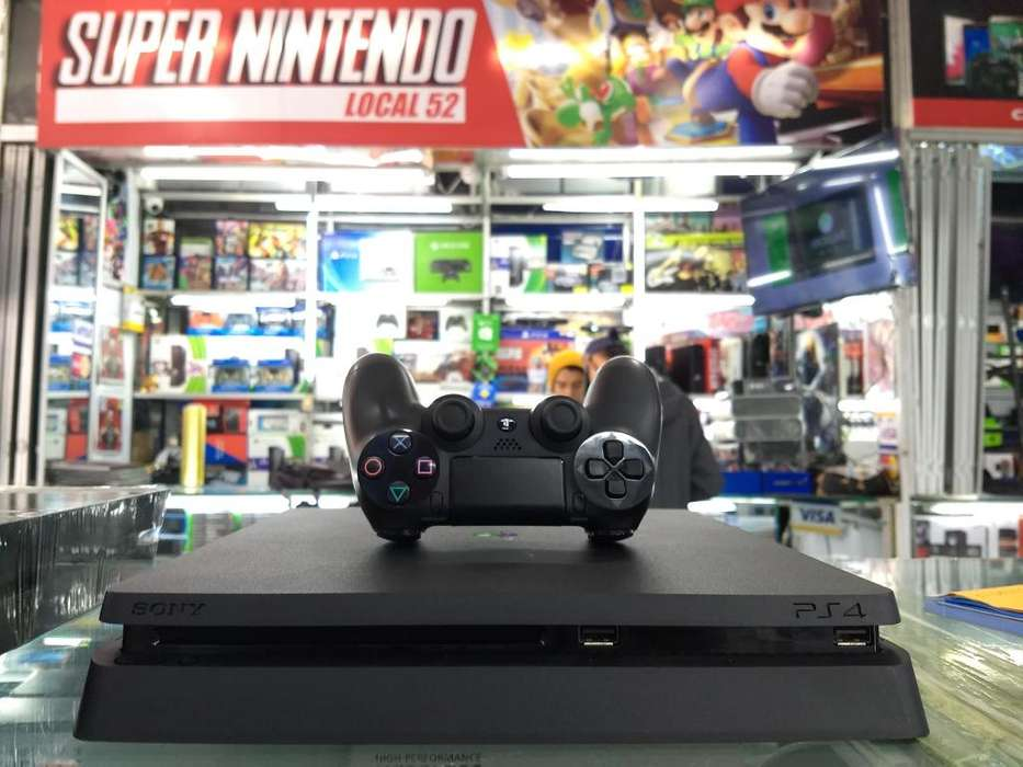 ps4 slim 500gb control original juego obsequio