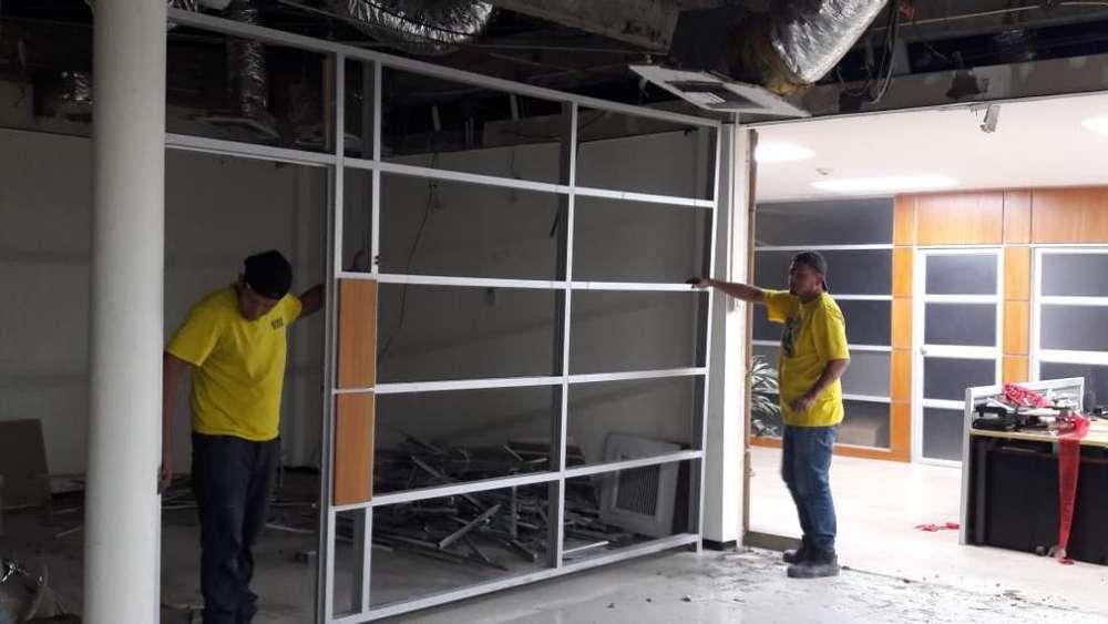 Trabajos en Aluminio Vidrios Y Espejos
