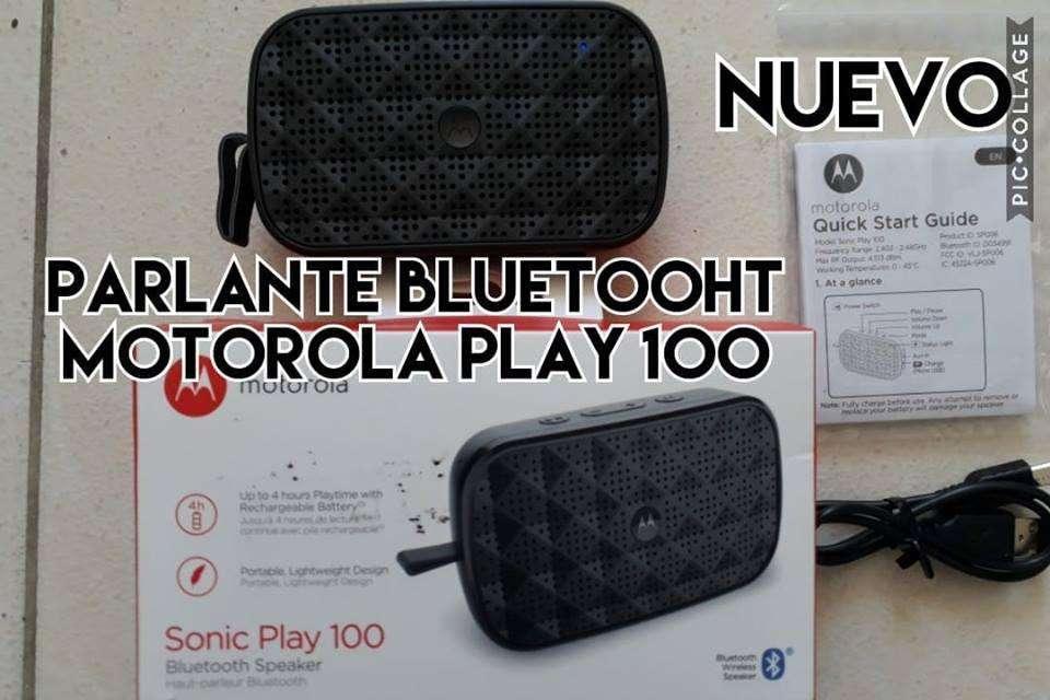 parlante bluetooht motorola play original NUEVO venta cambio