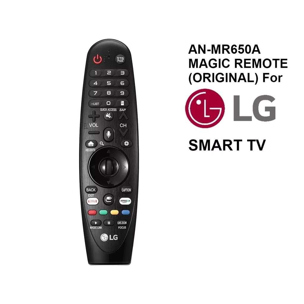 MAGIC CONTROL REMOTO SMART TV LG AN400/MR500/MR600/MR650/ 650A/700
