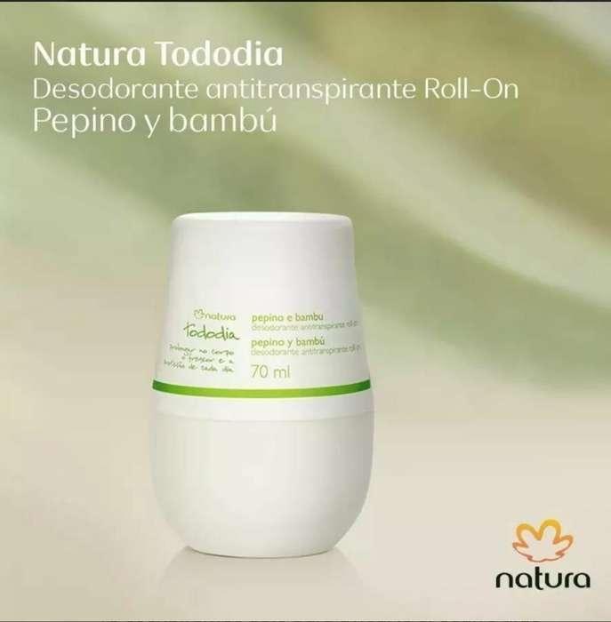 Desodorante Roll-on Pepino Y Bambú