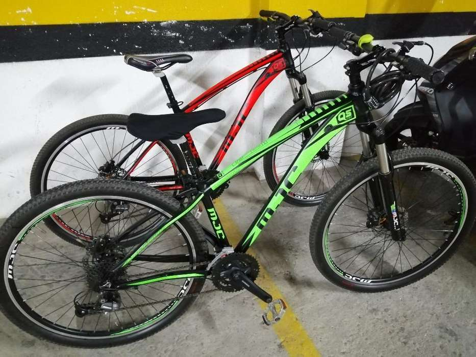Bicicletas 100 Aluminio 9 Velocidades