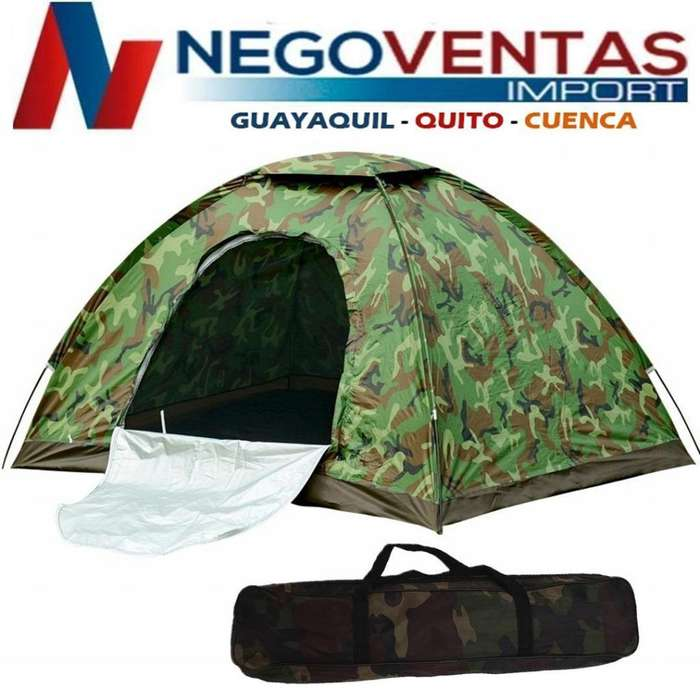 <strong>carpa</strong> CAMPING 2X2 MTS ESTRUCTURA ARMABLE COBERTOR IMPERMIABLE CAMUFLADO