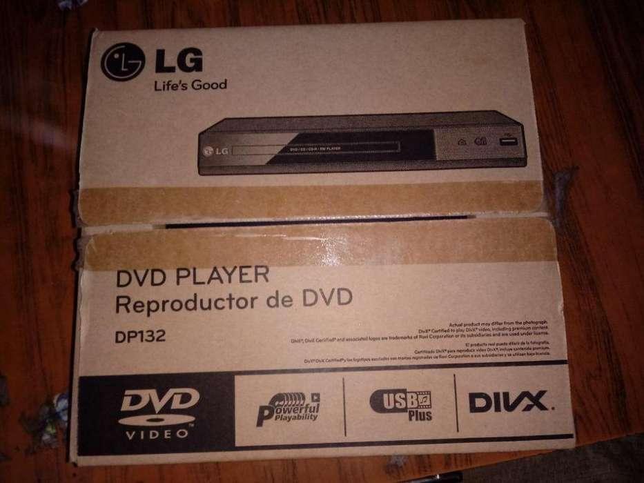 DVD LG DP 132 nuevo