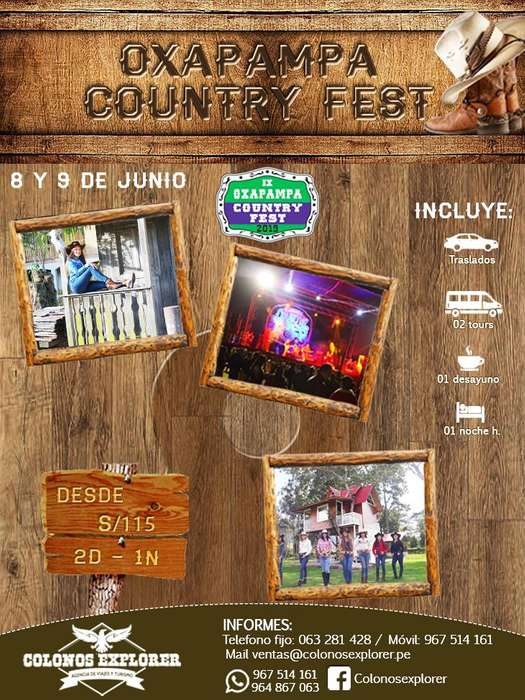 Country Fest Oxapampa / 967514161