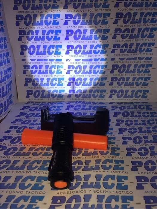 Linterna Police 5000 Lumens