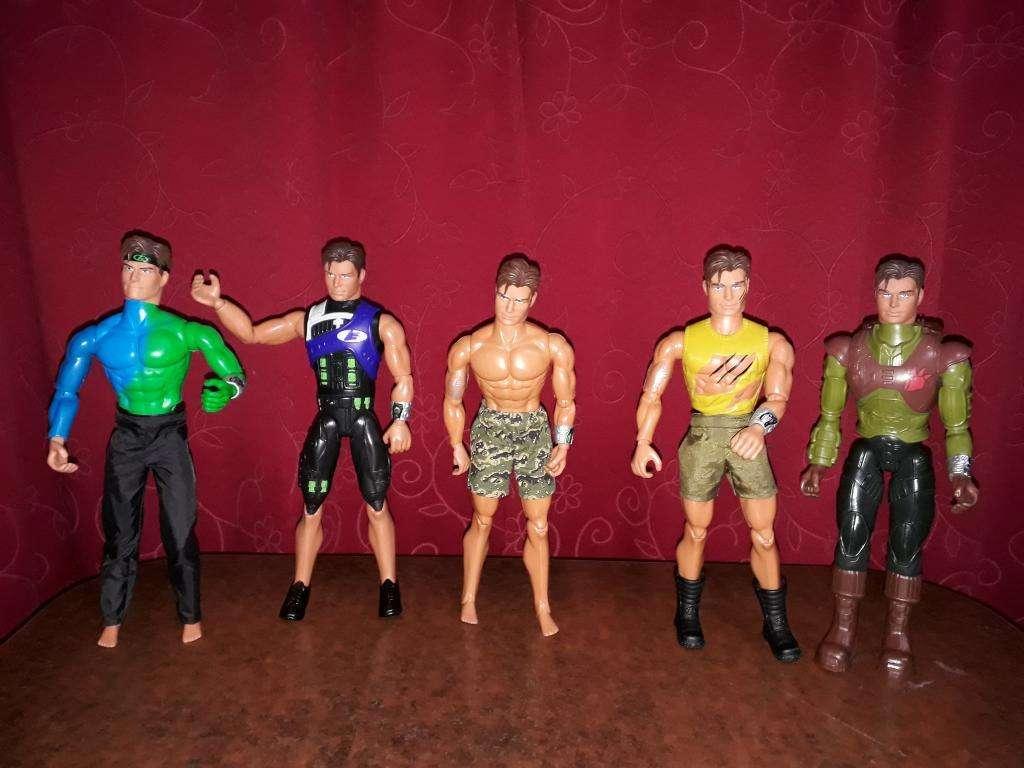 Figuras de Max Steel de Mattel