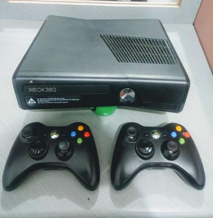 Xbox 360 Slim 5.0 320 Gigas Negociable