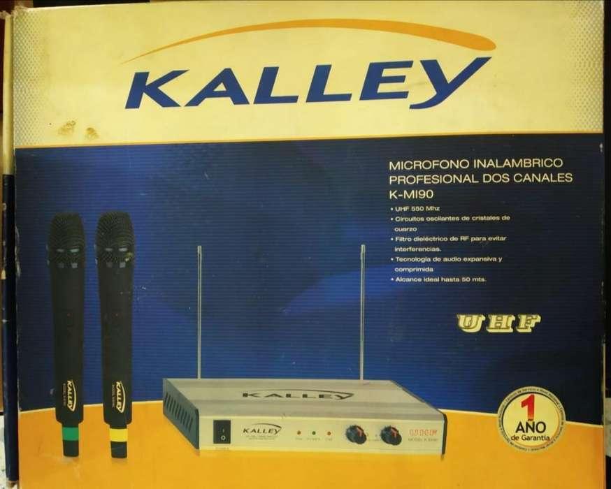 Micrófonos Inalambricos Marca Kalley