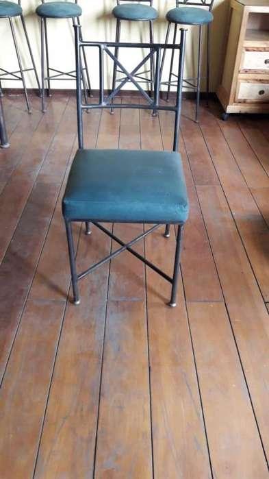 <strong>sillas</strong> de madera y de metal de venta