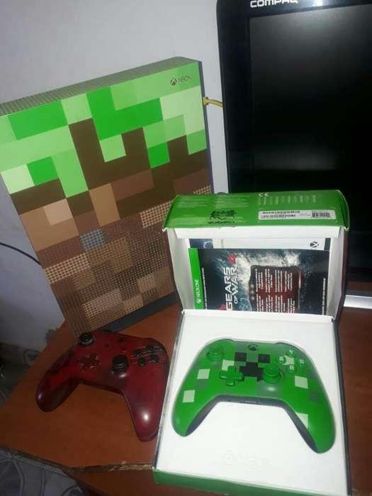 Xbox Como Nuevo Dos Controles Muy Buen E