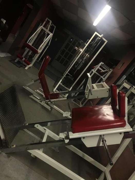 vendo equipamiento gimnasio completo